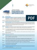 Seminario FEN UMAYOR - I+DEA - ASECH Financiamiento Para Emprendedores