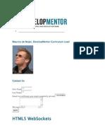 HTML5 WebSockets