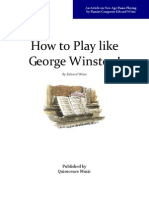 Play Piano Like George Winston!