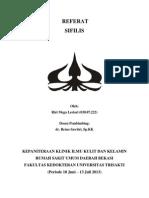 Cover Makalah Sifilis
