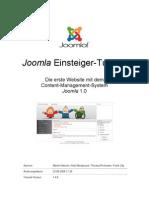 Joomla! Einsteiger-Tutorial