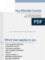Blended Learnin Design