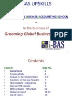 Ibas Upskills - Training Programs 2013