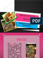 Productos de Snacks