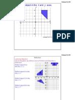 Reflection Grid Worksheet