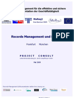 [DE] Records Management & MoReq2 | Roadshow 2009