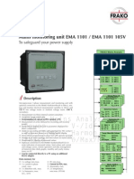 EMA1101_Mains Monitoring System