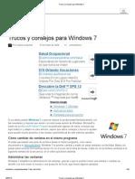 Trucos y Consejos Para Windows 7