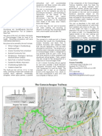 Conococheague Trailway Feasibility Study Brochure