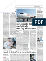 Messaggero 01.06.13 Aeroporto p.38
