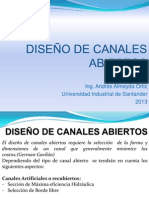 DISEÑO DE CANALES ABIERTOS