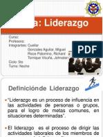 Diapositivas Del Trabajo de Liderazgo