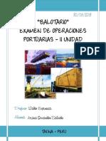 BALOTARIO PORTUARIAS