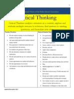core educational value critical thinking november 2012