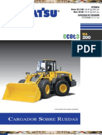 Catalogo Cargador Frontal Wa200 6 Komatsu