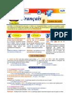 3as Autre Fiche Francais Syntaxe 1