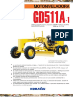 Catalogo Motoniveladora Gd511a 1 Komatsu