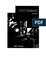 APICS Dictionary Tenth Edition