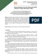 A Escolha de um Sistema Integrado de Gestão Empresarial (ERP) através do Método de Análise Hierárquica (AHP)