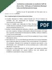 Propostas Coletivas - II Conferencia Municipal de Cultura
