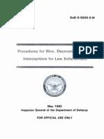 DoD LawEnforcementIntercepts(snowden)