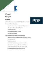 At Mega 8 Data Sheet