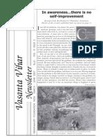 Vasanta Vihar Newsletter -Mar-jun 2007