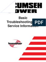 Tecumseh Service Manual | Carburetor | Ignition System