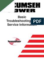 Tecumseh Basic Troubleshooting & Service Information