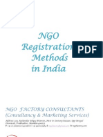 Ngo Registration Method