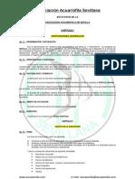 Boletín Asociación Acuariófila Sevillana - Estatutos