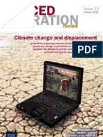 Forced Migration Review Climate Change and Displacement