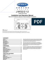 jensen jms2212 owners manual
