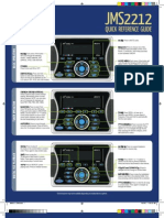 jensen jms2212 quick reference guide