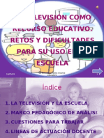 LA TELEVISIÓN COMO RECURSO EDUCATIVO, Power