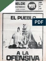 El Rebelde 207 Marzo 1984