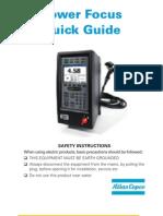 Power Focus 4000 Quick Guide