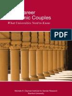 Dual-Career Academic Couples