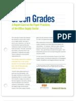 ForestEthics Green Grades 2008