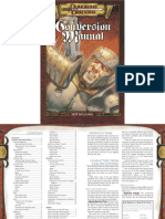 Conversion Manual AD&D to D20 3.0