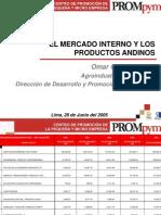El Mercado Interno y Los Productos Andinos
