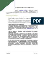 PSE Webinar FAQ