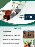 Impact -FDI in Retail