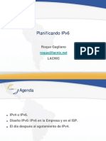 Planificacion ipv6