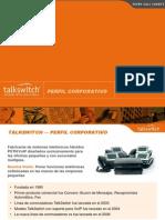 Talk Switch Corporation Presentation I