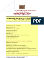 Nota Interna nº 6 Páginas Web
