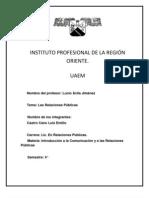 INSTITUTO PROFESIONAL DE LA REGIÓN ORIENTE