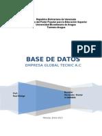 Proyecto Base de Datos