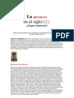 Quimica en El Siglo XXI Angel o Demonio v.talanquer 21031