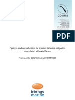 Options and Opportunities for Marine Fisheries Mitigation Associated With Windfarms 2010